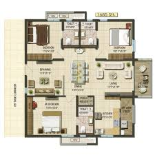 Municipal Hall Floor Plan by Aparna Cyberlife Gated Communities In Hyderabad