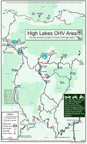 The 606 Map Friends Of The High Lakes Portal