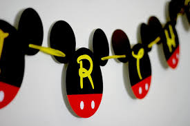 mickey mouse party decorations mickey mouse birthday banner mickey mouse birthday