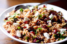 thanksgiving recipes with pictures farro cranberry and goat cheese salad life u0027s ambrosia