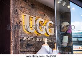 ugg australia sale sydney detail of the ugg australia store in sydney australia stock photo
