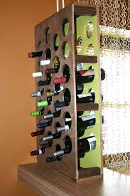 how to build a handcrafted wine rack wine rack and hgtv