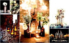 Fall Centerpieces With Feathers by 31 Beautiful Wine Bottles Centerpieces Perfect For Any Table