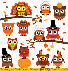 thanksgiving owl clipart clip happy thanksgiving owl