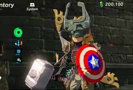 thor s hammer mjolnir the legend of zelda breath of the wild