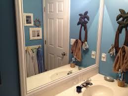 Framed Bathroom Mirrors Ideas Diy Framed Bathroom Mirrors Brady Lou Project Guru
