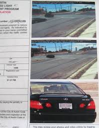 traffic light camera ticket how to read a red light camera ticket