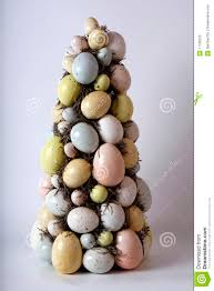 easter egg tree decorations easter egg tree stock photo image of ornament orange 17768376