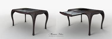 designer table conceptual design