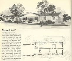 Mid Century Modern Ranch House Plans 705 Best Historic House Plans Images On Pinterest Vintage Houses