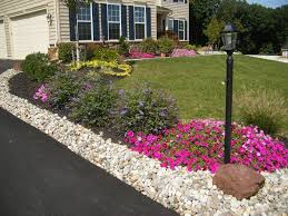 Front Yard Landscape Ideas by Brilliant Front Yard Landscaping Ideas With Colorful Flowers And