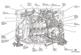 ford taurus engine diagram 1998 ford taurus cooling system diagram