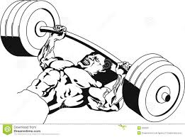 bench press stock photo image 355560