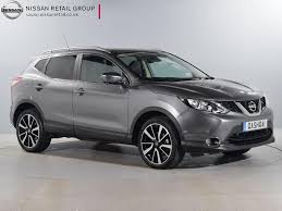 nissan juke grey interior nearly new nissan for sale qashqai 1 6 dci tekna non panoramic