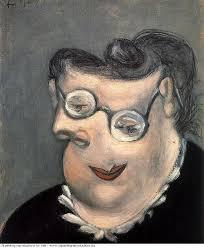 Oil Painting Meme - portrait d emilie marguerite walter meme 1939 pablo picasso