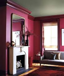 Room Fireplace Interior Design Ideas Brick Fireplace Wall House With And Burgundy