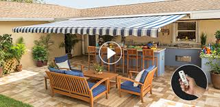 Side Awnings For Patios Sunsetter Awning Models Sunsetter Awnings