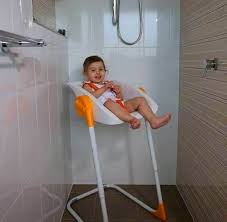 baby shower seat baby showering high chair for bath time in shower