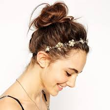 women s hair accessories aliexpress buy new fashion headband gold flowers leaves hair