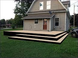 Wooden Patio Decks by Outdoor Ideas Deck Railing Color Ideas Outside Railing Ideas