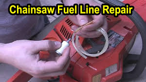 chainsaw fuel line repair husqvarna model 141 youtube