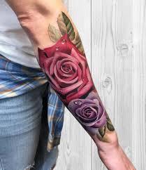 de tatuajes de rosas fotos de tattoos de rosas una combinación explosiva