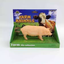 coleção animais da fazenda porco coloria bege compre agora