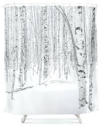Shower Curtains With Trees Tree Shower Curtains Teawing Co