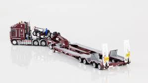 kenworth k200 prime mover drake 2x8 dolly 4x8 dragline bucket