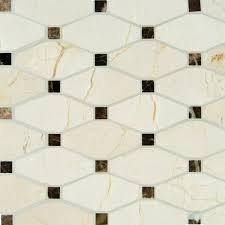 Timeless Backsplash by A Nod To Classic Design Valencia Blend Elongated Octagon Offers A
