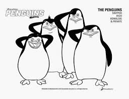 madagascar penguins coloring pages glum
