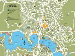 city map canberra city map visitcanberra
