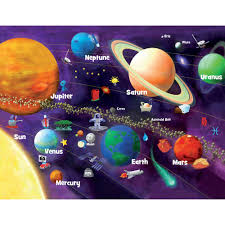 halloween jigsaw puzzles for adults masterpieces solar system glow 60 piece puzzle walmart com