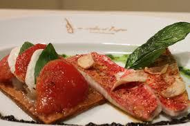 cuisiner rouget filets de rouget poêlés à l huile d olive tarte à la