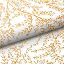 gold wrapping paper new vandoros harmony white and gold wrapping paper ebay
