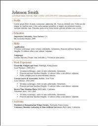 Online Free Resume Template by 20 Best Free Resume Examples Images On Pinterest Resume Examples