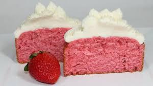 strawberry cake recipe how to make a homemade strawberry cake