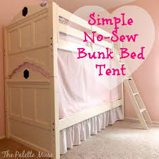 Bunk Bed With Tent Easy Secret To Building The Bunk Bed Tent Hometalk