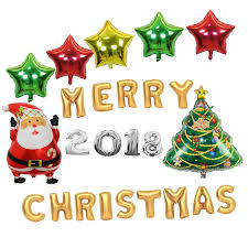 number balloons delivered merry christmas letters foil balloons christmas decorations number