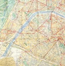 Metro Map Of Paris by Paris Metro Map C 1910 Original Art Antique Maps U0026 Prints