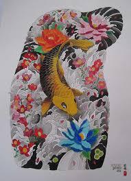 18 wonderful koi tattoo designs and ideas