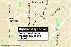 Folsom Field Map Homicide Detectives Investigating Fatal Attack At Highlands High