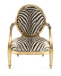 Zebra Accent Chair Marlon Zebra Print Accent Chair