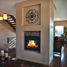 Indoor Outdoor Wood Fireplace Double Sided - multi sided fireplaces woodlanddirect com fireplace units see