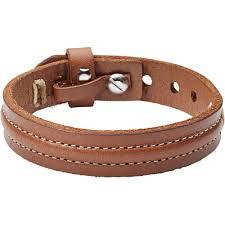 fossil leather bracelet images Men 39 s fossil stainless steel leather bracelet ja6882040 jpg