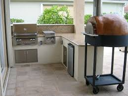 Outdoor Kitchen Bbq Custom Outdoor Kitchen With Alfresco Built In Bbq Grill And Stone