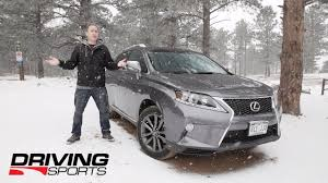 lexus drivers job 2014 lexus rx350 f sport reviewed and driven in colorado youtube