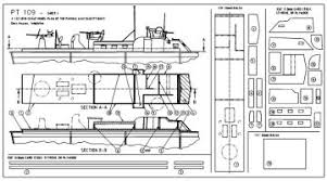 pt boat plans for model boat building