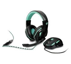 port designs buy arokh port designs mouse and headset gaming bundle at argos co