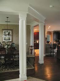 Interior Columns Design Ideas Columns Notice Around Top Trim On Ceiling I Love Interior